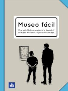 Museo fácil | 1ª guía de lectura fácil de la Colección Thyssen-Bornemisza | Portada