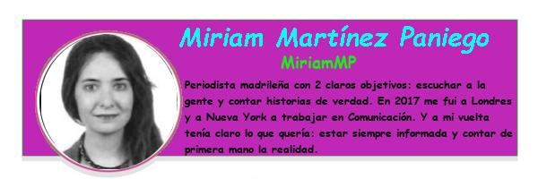 Perfil colaboradores PqHdM | Miriam Martínez Paniego | MiriamMP