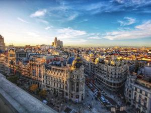 Tu primera vez en Madrid | Vista de Alcalá y Gran Vía | Madrid | Foto Jorge Fernández Salas