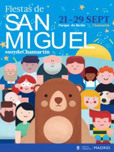 Fiestas de Chamartín 2019 | San Miguel | 21-29/09/2019 | Chamartín | Madrid | Cartel