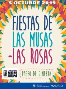 Fiestas de Las Musas-Las Rosas 2019 | San Blas-Canillejas | Madrid | 05/10/2019 | Cartel