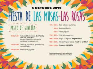 Fiestas de Las Musas-Las Rosas 2019 | San Blas-Canillejas | Madrid | 05/10/2019 | Programa