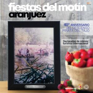 Fiestas del Motín 2019 | Aranjuez | Comunidad de Madrid | 04-08/09/2019 | Cartel