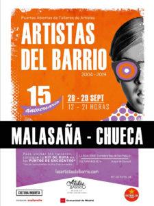 Los Artistas del Barrio 2019 | Malasaña y Chueca | 28 y 29/09/2019 | Centro | Madrid | Cartel