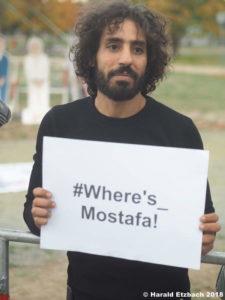 Ahmed Said: encuentro, poesía y aperitivo | Amnistía Internacional | 30/10/2019 | Impact Hub Madrid | ¿Dónde está Mustafa? | Foto Harald Etzbach 2018