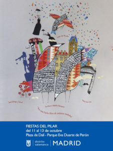 Fiestas del Pilar 2019 | Distrito Salamanca | Madrid | 11-13/10/2019 | Cartel