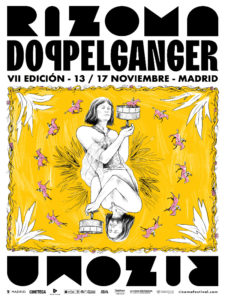 7º Festival Rizoma Doppelgänger de Cine | 13-17/11/2019 | Madrid | Cartel