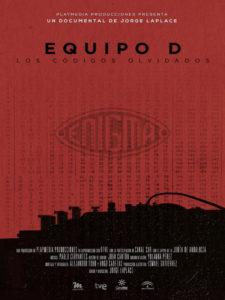 El equipo D, los códigos olvidados | Premio Rizoma de Cine | 16/11/2019 | Sala Equis | Lavapiés | Madrid | Cartel