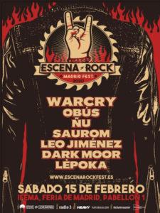 Escena Rock | 15/02/2020 | IFEMA | Madrid | Cartel Álvaro P-FF 2019