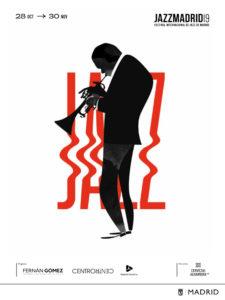 JazzMadrid19 | Festival Internacional de Jazz de Madrid | 28/10-30/11/2019 | Madrid | Cartel Jorge Arévalo