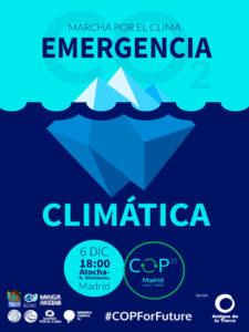 Marcha por el Clima Emergencia Climática | 06/12/2019 | Atocha - Nuevos Ministerios | Madrid | Cartel