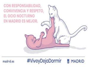 Salimos sin Molestar | Vive y Deja Dormir | Ayuntamiento de Madrid | Con responsabilidad, convivencia y respeto, el ocio nocturno en Madrid es mejor