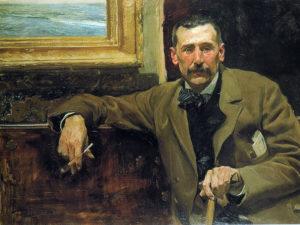 Retrato de Benito Pérez Galdós | 1894 | Joaquín Sorolla | Casa Museo Pérez Galdós | Las Palmas de Gran Canaria | España