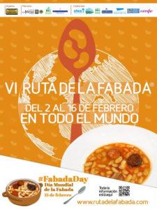 6ª Ruta de la Fabada en todo el mundo | 2-16/02/2020 | Comunidad de Madrid | Cartel