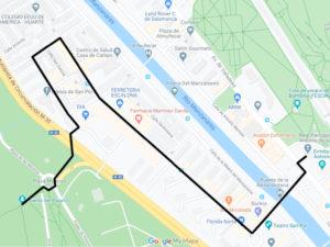 Carnaval de Madrid 2020 | Ayuntamiento de Madrid | 21-26/02/2020 | Plano Entierro de la Sardina 2020 | Google My Maps