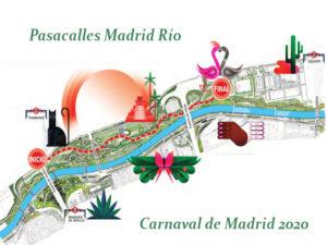 Carnaval de Madrid 2020 | Ayuntamiento de Madrid | 21-26/02/2020 | Pasacalles Madrid Río 2020