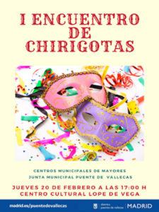 Carnaval Vallecano 2020 | Puente de Vallecas | Madrid | 20-23/02/2020 | Cartel I Encuentro de Chirigotas