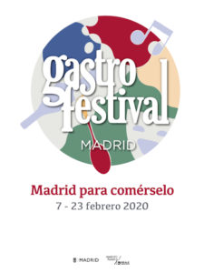 Gastrofestival Madrid 2020 | Madrid para comérselo | 07-23/02/2020 | Madrid | Cartel