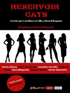 Reservoir Cats de Carolina Corvillo y Ricard Reguant | Sala El Umbral de Primavera | Febrero 2020 | Lavapiés | Madrid | Cartel