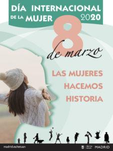 Programación Las mujeres hacemos historia | Marzo 2020 | Tetuán | Madrid | Cartel