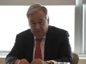 Covid-19: Alto el Fuego Mundial | António Guterres | Secretario General de Naciones Unidas | En videoconferencia