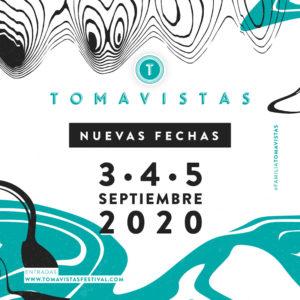 Tomavistas 2020 se aplaza a septiembre | Nuevas fechas: 3, 4 y 5/09/2020