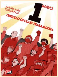 1 de Mayo de 2020 | Ahora más que nunca, orgullo de clase trabajadora | Cartel: @mokinow