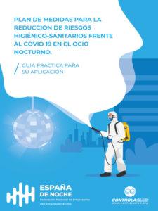 Guía de Medidas de Reducción de Riesgos contra el Covid19 | España de Noche | ICTE | Portada