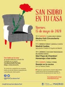San Isidro en tu casa | Viernes 15 de mayo de 2020 | Distrito Carabanchel | Madrid | Programa