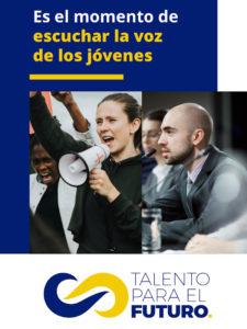 Talento para el Futuro | Es el momento de escuchar la voz de los jóvenes | Cartel