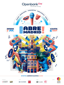 Abre Madrid | IFEMA | 7/07-6/09/2020 | Barajas | Madrid | Cartel