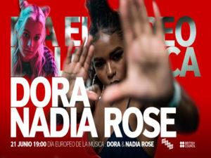Día Internacional de la Música 2020 | Conde Duque | Madrid | 21/06/2020 | Dora y Nadia Rose