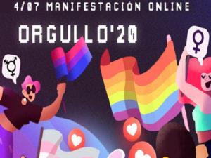 MADO 2020   Madrid Orgullo   Orgullo Estatal LGTBI   Manifestación online   4/07/2020