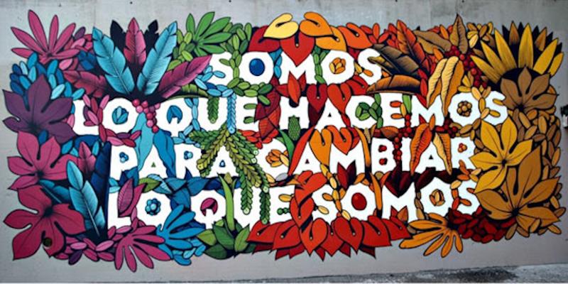 Cultura Inquieta Urban Fest | 12/09/2020 | Getafe | Comunidad de Madrid | Mural de Boa Mistura en el barrio de Lavapiés (Madrid)