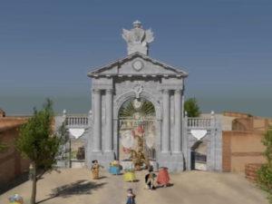 El Madrid desaparecido revive en 3D | Gabinete de Humanidades Digitales | Ayuntamiento de Madrid | 'La Puerta de Recoletos'