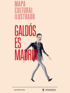 'Galdos es Madrid' | Mapa cultural ilustrado | Ayuntamiento de Madrid