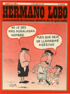 Humor absurdo: una constelación de disparate en España | Centro de Arte 2 de Mayo (Comunidad de Madrid) | Gila | Portada Hermano Lobo