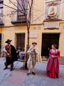 Rutas teatralizadas 'Letras y Espadas'   Casa Museo Lope de Vega   Julio 2020   Barrio de las Letras   Madrid   Foto Arantxa Boyero