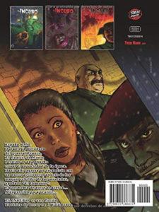 El Incubo 2 | Trebi Mann | Novela gráfica de terror | Contraportada