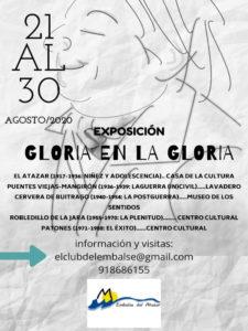 Gloria en la Gloria   Mancomunidad Embalse del Atazar   Sierra Norte   Comunidad de Madrid   Cartel