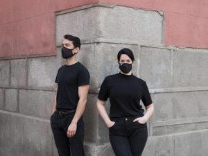 Mascarillas Ubik | Paseando por las calles de Madrid
