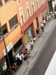 Zonas afectadas por restricciones en la Comunidad de Madrid | Centro de Salud Martínez de la Riva | Foto Vallekas Se Defiende