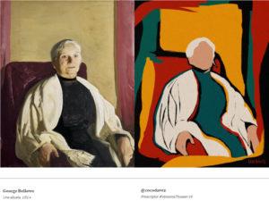 7ª Versiona Thyssen | 'Una abuela' (1914) | George Bellows | Versión Coco Dávez