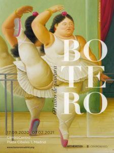 Botero: 60 años de pintura | 17/09/2020-7/02/2021 | CentroCentro | Palacio de Cibeles | Madrid | Cartel de la exposición