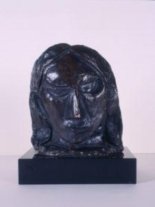 Cabeza de mujer (Fernande) -1908- | Pablo Picasso | 'La pieza invitada' | Museo Picasso-CEA | Buitrago del Lozoya