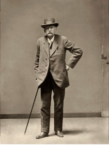 Galdós en el laberinto de España | 22/09/2020-3/01/2021 | Real Academia de Bellas Artes de San Fernando | Cortés | Retrato de Galdós, hacia 1905 | Colección particular