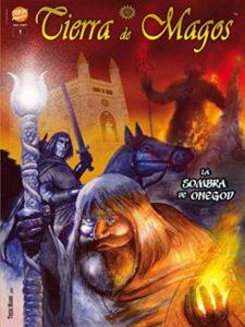 La sombra de Onegod | Tierra de Magos 1 | Trebi Mann 2020 | Portada