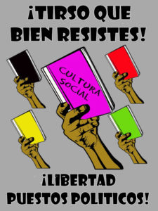 ¡Tirso que bien resistes! | ¡Libertad Puestos Políticos!