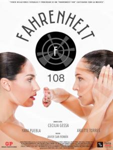 Fahrenheit 108 | Cecilia Gessa | 22/10/2020-07/01/2021 | Teatro Lara | Madrid | Cartel