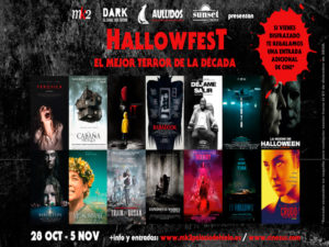 HallowFest | El mejor terror de la década en mk2 | 28/10-05/11/2020 | Cartel